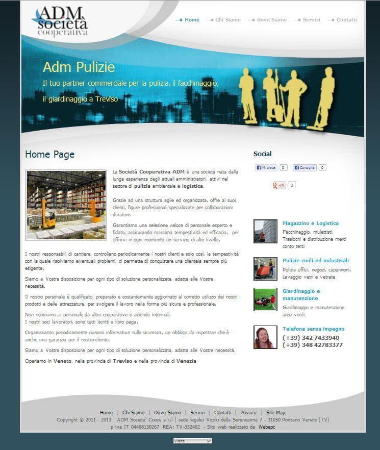 www.adm-pulizie.com