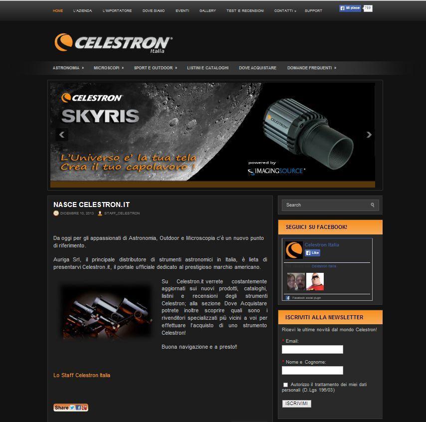 www.celestron.it
