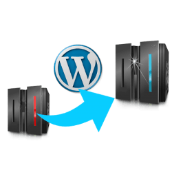 cambio hosting WordPress