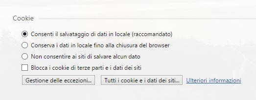 cookie Opera Browser