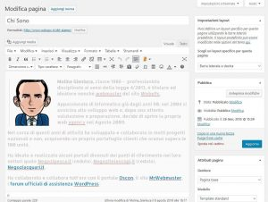 siti wordpress professionali
