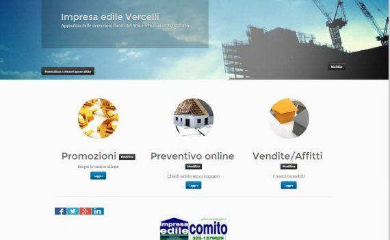 siti web per imprese edili