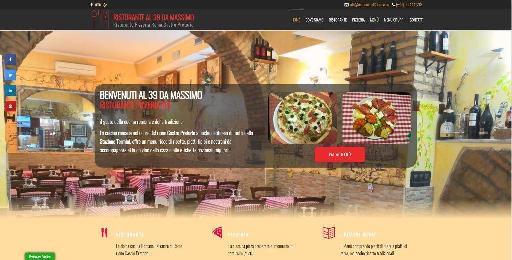 Ristoranteal39roma.com